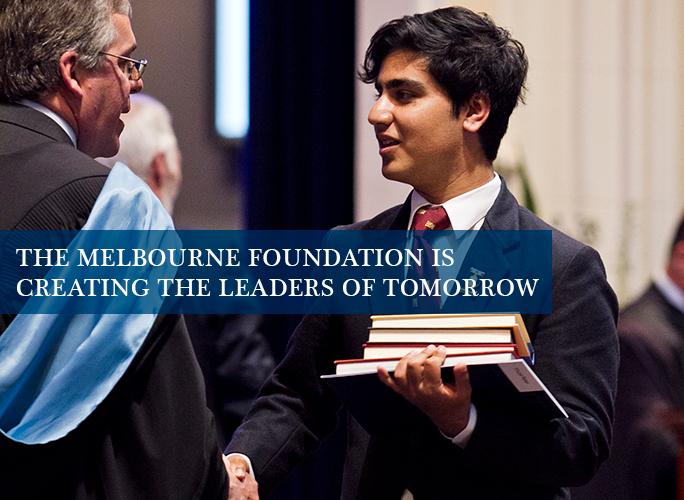 Melbourne Foundation - Private school secondary scholarships for financially disadvantaged